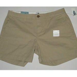 New khaki old navy shorts